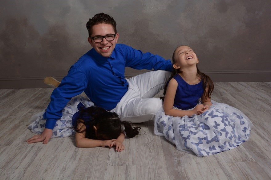 father and daughter professional photograph at andrae michaels in colorado springs