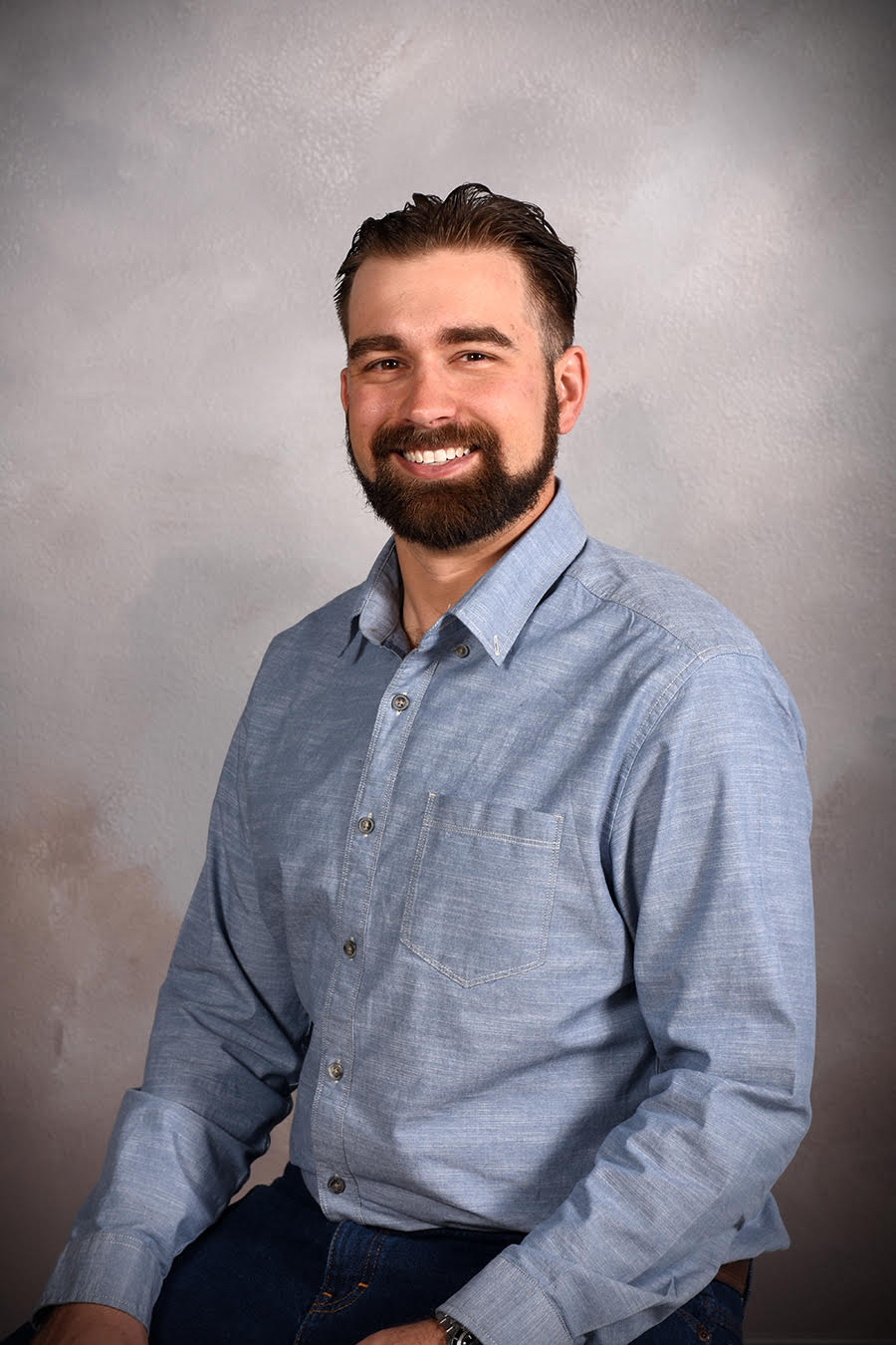 professional business photograph of man by Andrae Michaels portrait studios